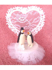 Penguin+bride+and+groom