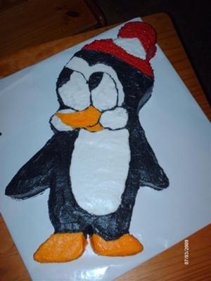 How To Make Pingu Birthday Cake