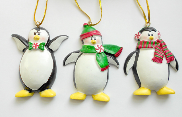penguin christmas ornaments | Penguin Place Post