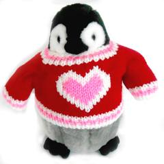 ... Penguin Valentineu0027s Day Section. Cozycutievalentineplushpenguin