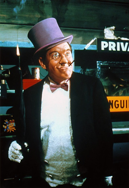 Burgess Meredith as The Penguin in the 1960's