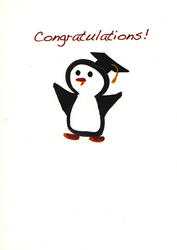 Penguin Grad Card