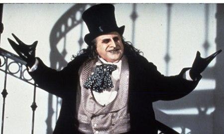 Danny Devito as The Penguin according to Tim Burton's vision in the Batman movie.